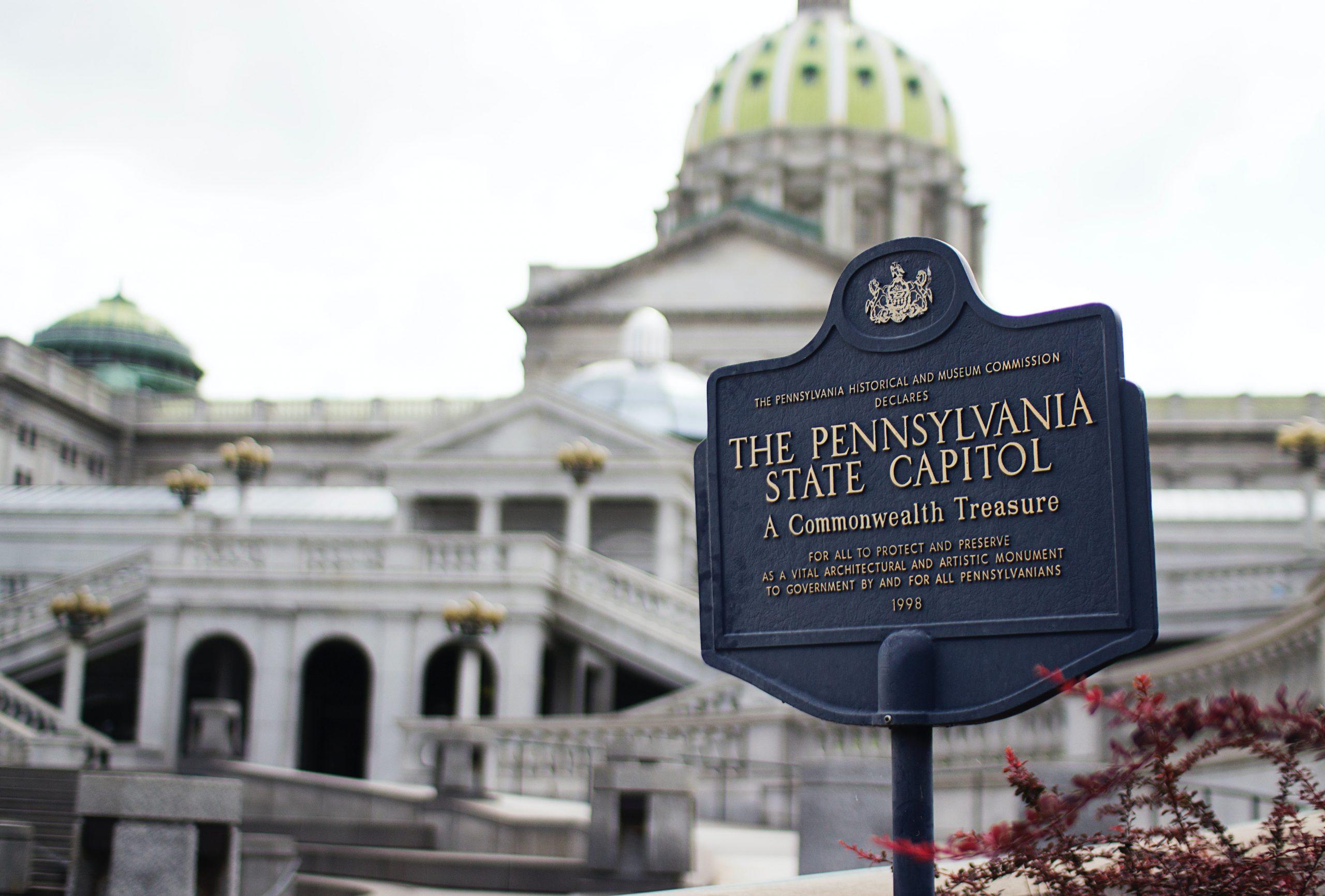 Capitol w Pensylvwanii